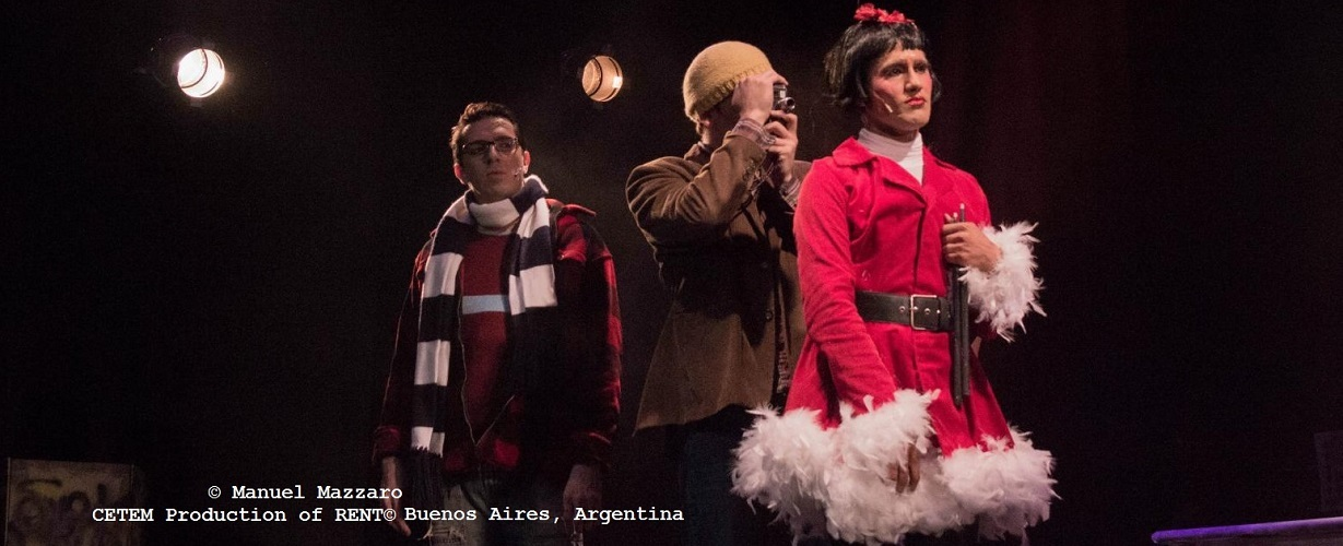 CETEM Production of RENT© - Buenos Aires, Argentina 2013