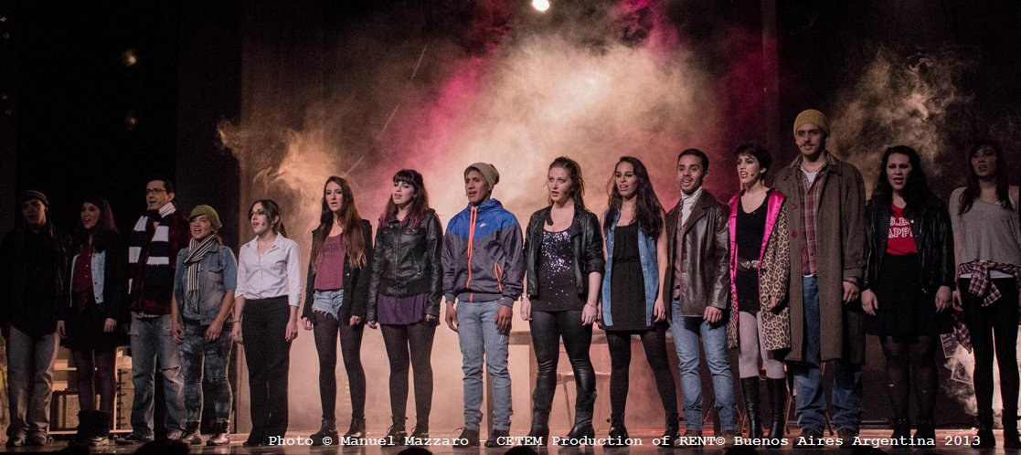 Photo © Manuel Mazzaro - CETEM Production of RENT© Buenos Aires Argentina 2013