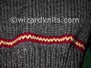 Wizard School Uniform Vest - redheartsamplestripe