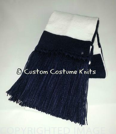 Mark Cohen's trademark striped scarf