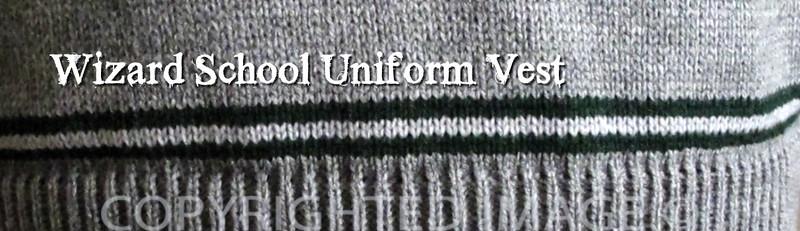 Wizard School Uniform Vest Pattern