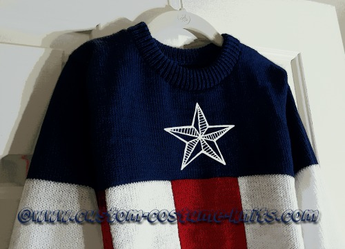 Superhero Sweaters captain-america-sample