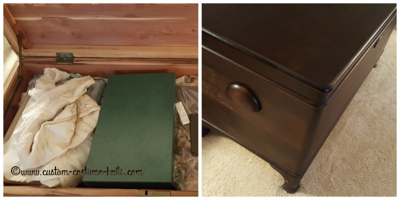 cedar chest for storage