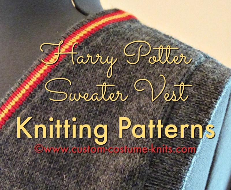 Free Downloadable Harry Potter Knitting Patterns : Harry Potter Sweater Vest: The Most Popular Knitting ...