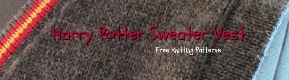 Harry Potter Sweater Vest