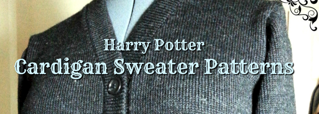 Harry Potter Cardigan Sweater Custom Costume Knits