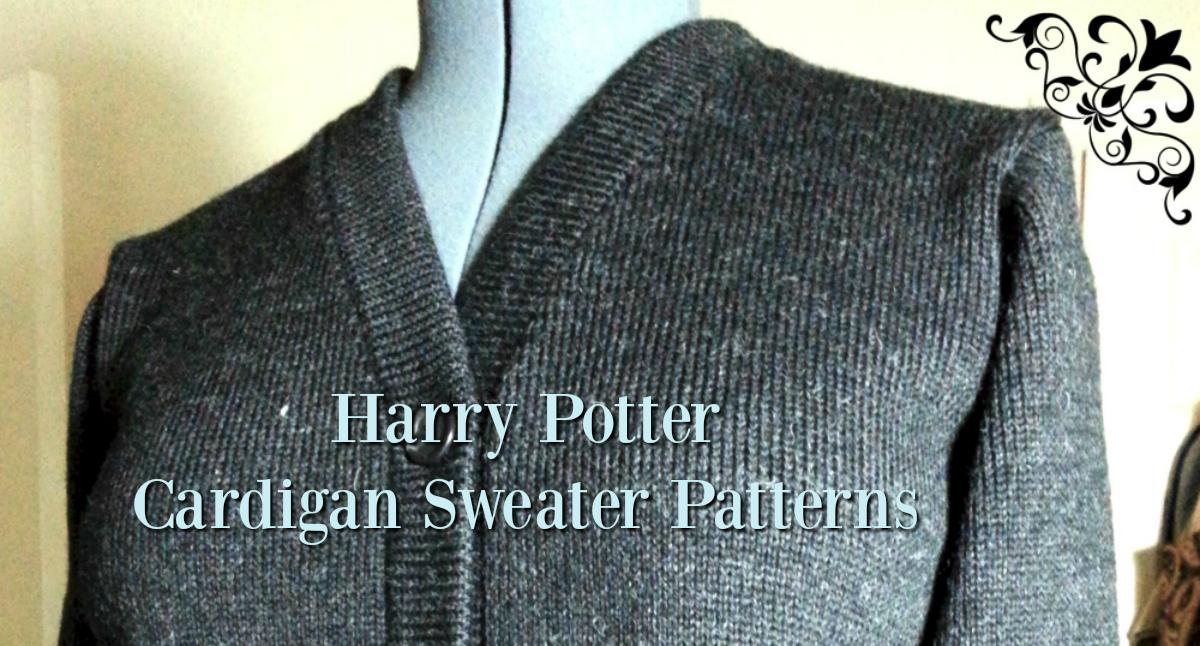 Knitting Pattern Harry Potter Jumper : Harry Potter Cardigan Sweater: Easy & Free Knitting Patterns!