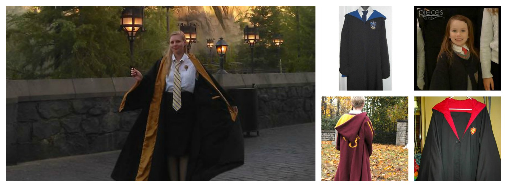 Harry Potter Hogwarts Robes