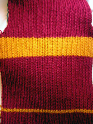 Harry Potter Quidditch Sweater Custom Costume Knits