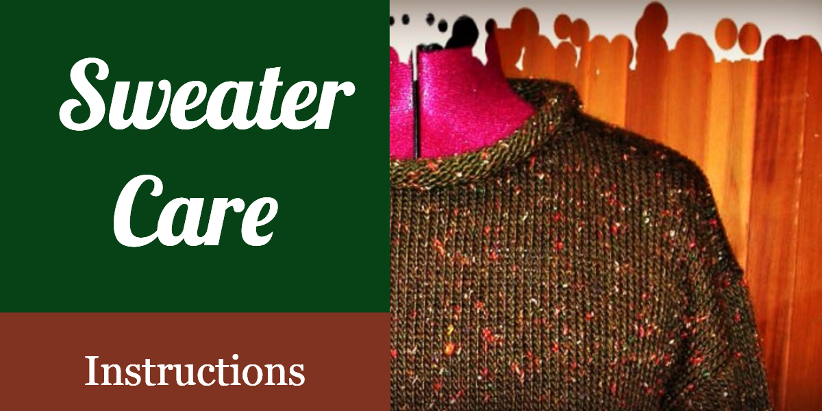 Acrylic Sweater Care Instructions