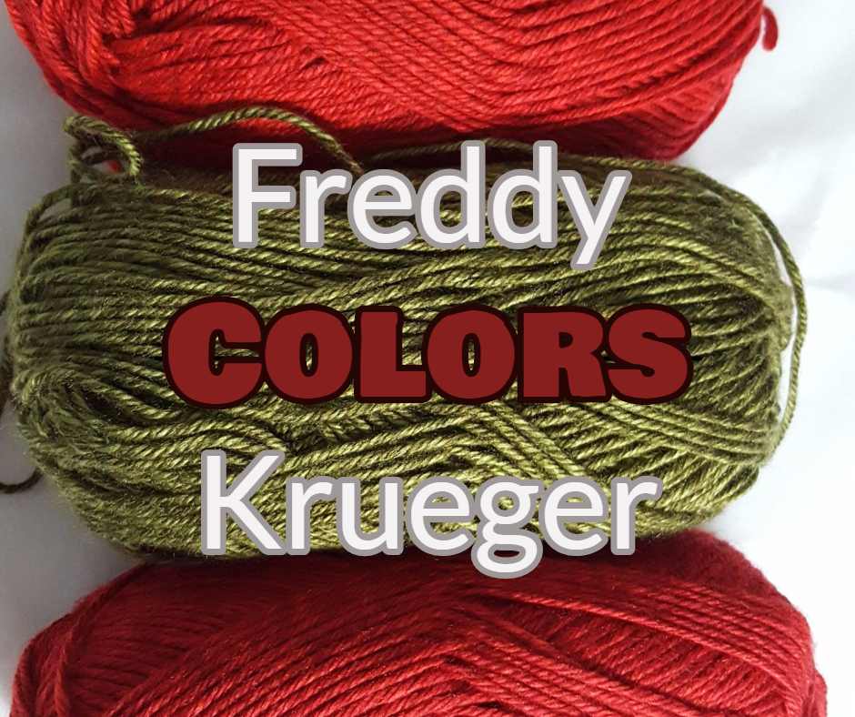 Freddy Krueger Sweater Colors Custom Costume Knits